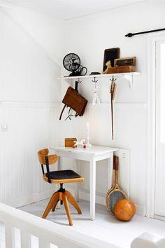 Desk chair @ B L O O D A N D C H A M P A G N E . C O M: