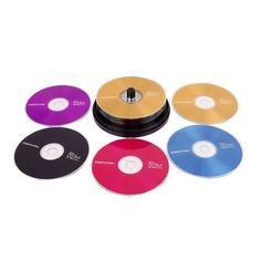 5 pcs. Black Memorex CD-R Discs 52x With Paper Sleeves #Memorex