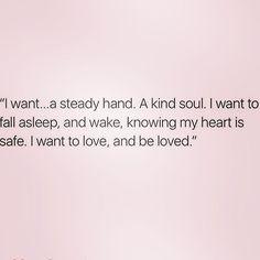 A steady kind of love ❤️