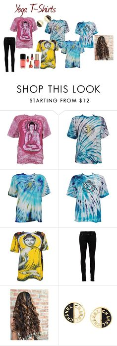"""""""Yoga T-Shirt"""" by josephin-prince on Polyvore featuring Yves Saint Laurent and Chanel"""