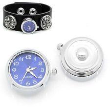 """1PC Pop Watch Face Snap Click Buttons Snap Blue 25mmx21mm(1""""x7/8"""")"""