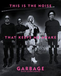 International best-selling rock band Garbage presents its own autobiography, a gorgeous, full-color coffee-table book with text and images galore. Preorder now, and your book will ship immediately (ahead of the official publication on July 4, 2017). Note: This page is for the regular edition of This Is the Noise That Keeps Me Awake. For the limited edition preorder with an exclusive 12