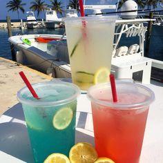 Refreshing lemonade a from La Marina Cafe at El Conquistador Resort!