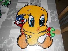 Tweety hama perler beads by hardy8676