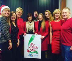 Thanks to the crew at Liberty Blue Estate Agents on Parnell Street for wearing #RedToWork and hosting their #LibertyBlueGoesRed coffee morning this morning. They raised almost 800 for the WLR FM Christmas Appeal #BeALittleStar