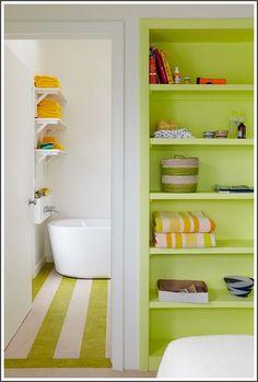 pretty colours for bedroom & bath