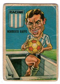 Norberto Raffo - Racing Club #61   1967