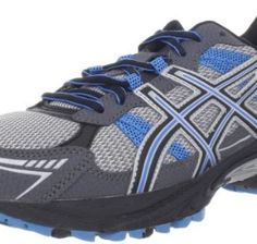 ASICS Men's GEL-Venture 4 Running Shoe,Charcoal/Carbon/Blue,10.5 M US