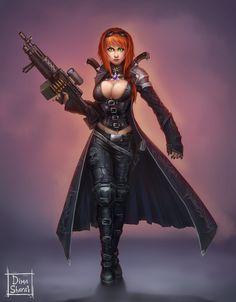 bad girl by dima-sharak