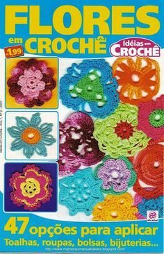 more motif diagrams Graph Crochet, Crochet Gratis, Crochet Motifs, Crochet Cross, Crochet Diagram, Crochet Patterns, Knitting Magazine, Crochet Magazine, Knitting Books