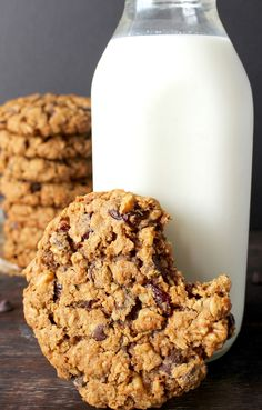 These Big and Chewy Oatmeal Cookies are everything you are looking for in a cookie- easy, chewy, extra big, and packed with delicious add-ins.