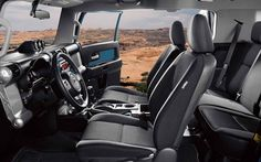 2017 Toyota FJ Cruiser Interior Seat Pictures.jpg (1280×800)