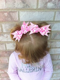 Pink Polka Dots Piggies by TutusNBows4u on Etsy, $5.00