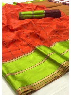 Multicolor Soft Silk Chex Design Saree - gnp006131 |  TO BUY THIS BEAUTIFUL OUTFIT CONTACT US / WHATS APP US ON : +91 9898133588, +91 7990485004 || EMAIL US AT grabandpack@gmail.com || you can visit on www.grabandpack.com |  #style #mumbai #chennai #cotton #cottonsaree #sareeinspiration #sareesonline #bridalsarees #indiansarees #sareeseduction #kanchipuramsaree #hyderabad Soft Silk Sarees, Cotton Saree, Wedding Dress Chiffon, Kanchipuram Saree, Saree Collection, Indian Sarees, Hyderabad, Sarees Online, Chennai