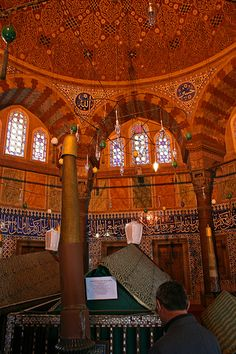 The tomb of Suleiman the Magnificent Beauty Planet, Turkish People, Turkish Delight, Graveyards, Le Far West, Ottoman Empire, Istanbul Turkey, North Africa, Mosque