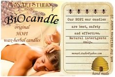 HOPI EAR CANDLES INSTRUCTIONS FOR EAR WAX REMOVAL