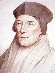 """John Fisher, Bishop of Rochester (c.1469-1535)  """"I reckon in this realm no one man, in wisdom, learning, and long approved virtue together, meet to be matched and compared with him.""""  —Thomas More on Fisher  His refusal to acknowledge King Henry VIII. as supreme head of the church was the ground of his trial, and he was beheaded on Tower Hill on the 22nd of June 1535."""