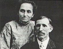 Walt's parents, Elias and Flora (Call) Disney