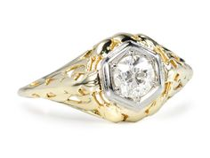 Edwardian Sweets: Solitaire Diamond Ring