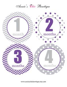 Our HIGH QUALITY stickers are the BEST way to capture the first two years of your childs life. Use our stickers for a memorable photo session or add them to your scrapbook. They also make a perfect gift for a mom to be. ITEM INFORMATION : ALL OUR CIRCLE STICKERS ARE: