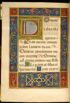 File:Francesco Marmitta - Leaf from Rangoni Bentivoglio Book of Hours - Walters W469212V - Open Reverse.jpg