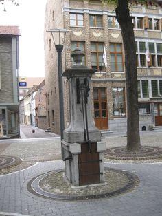 MAASEIK Oude stadspomp, Maaseik, Belgium