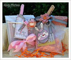 Easter Treats and tutorial for sewing on cards