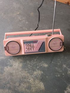Find many great new & used options and get the best deals for Vtg PINK GPX GRAN PRIX A275R AM/FM Stereo Receiver Mini Boom EXCELLENT CONDITION at the best online prices at eBay! Free shipping for many products! Midnight Radio, Cassette Recorder, Pink Brand, Bright Stars, Boombox, Marshall Speaker, Vintage Green, Old Things, Things To Sell