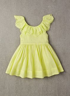 Nellystella Piper Dress in Lime Light - PRE-ORDER
