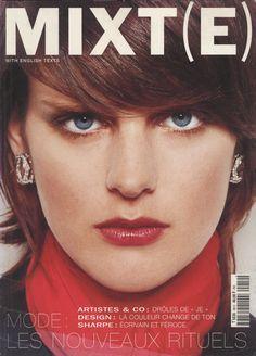 stella tennant photography terry richardson styling emmnelle alt mixte n 8 winter 2000