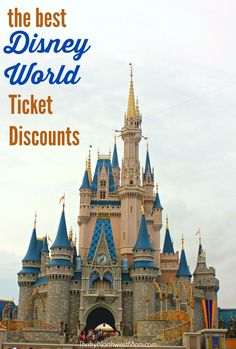 Disney World Tickets Discounts – Find the best ways to save when purchasing Disney World tickets! + Enter To Win A Disney Vacation Right Now! Disney World Deals, Disney World Vacation, Disney Vacations, Disney Travel, Disney Money, Disney Worlds, Disney Land, Disney On A Budget, Disney Vacation Planning