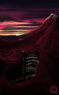 Underground Base by *IllOO on deviantART