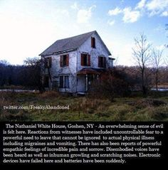 The Nathaniel White House. Short Creepy Stories, Spooky Stories, Ghost Stories, Horror Stories, Bizarre Stories, Paranormal Stories, Wow Facts, Wtf Fun Facts, Creepy Facts