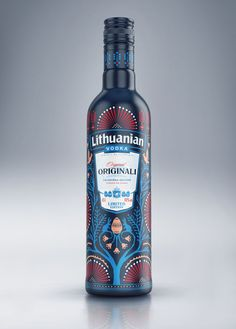 Lithuanian Vodka Easter Limited Edition on Packaging of the World - Creative Package Design Gallery