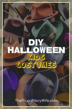 Quit dropping money on Halloween costumes and give one of these DIY Halloween Kids Costumes a try this year. Many are crazy simple! #frugalnavywife #halloween #costumes #diycostumes ##kidscostumes #frugalhalloween | Saving Money On Costumes | DIY Halloween Costumes | Kids Halloween Costumes | Kids Costumes | Halloween | Costumes | Diy Halloween Costumes For Women, Costumes Kids, Halloween Kids, Do It Yourself Projects, Do It Yourself Home, Amazing Crafts, Fun Crafts, Navy Wife, Different Holidays