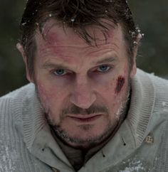 """Liam Neeson on Shooting 'The Grey': """"We had lines to memorize and our brains were freezing and all we could think about was how to stay warm"""""""
