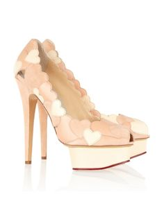Charlotte Olympia 'Love Me' pumps