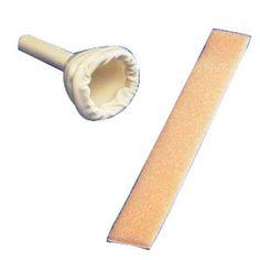EA/1 - Uri-Drain Latex Self-Sealing Male External Catheter with Foam Strap, Medium 30 mm