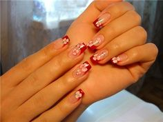 Love red nails