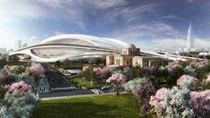 Arquitectos japoneses mitin contra el Estadio Olímpico de Zaha 2020 http://cecchiniambrosinicristina.blogspot.com.es/