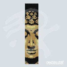 Buddha...PDF peyote pattern van beadsbyvezsuzsi op Etsy
