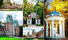 These photographs are taken in Tsaritsyno, Cheremushki and Polenovo, within the city limits and near Moscow