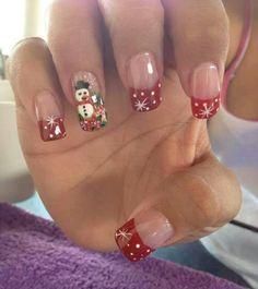 Trendy fails art tutorial for kids 43 Ideas Holiday Nail Designs, Holiday Nail Art, Christmas Nail Art, Cool Nail Designs, Merry Christmas, Snowman Nails, New Years Eve Nails, Seasonal Nails, Finger