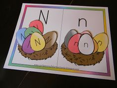Finding the Teachable Moments: Letter N Letter N Activities, Letter Of The Week, Crafts For Kids, Preschool, In This Moment, Lettering, Nest, Crafts For Children, Nest Box