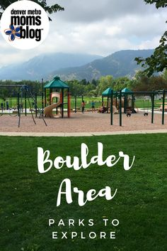 I love going to playgrounds with my daughter to spend quality time outside. Now that she is getting more independent on the playground structures, it's really fun to see her let loose at the park. When I first moved to Boulder, I had no idea where to go, so I desperately searched the internet for Boulder area parks – hoping for some great ideas. After being here for a little over a year, I compiled a list of some of our favorite area parks for other moms...