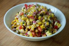 Gojee - Grilled Corn Salad by Dula Notes