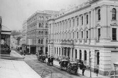 Edward St,Brisbane in 1900.