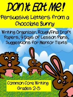 Brand New Common Core Writing Unit with 9 Days of lesson plans