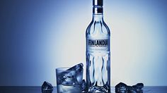 The vodka Finlandia is produced from Finnish-grown six-row barley and pure glacier water. Midnight Sun, Free Food, Vodka Bottle, Food And Drink, Pure Products, Luxury, Drinks, Handmade, Beverage
