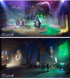 Epic Mickey concept art